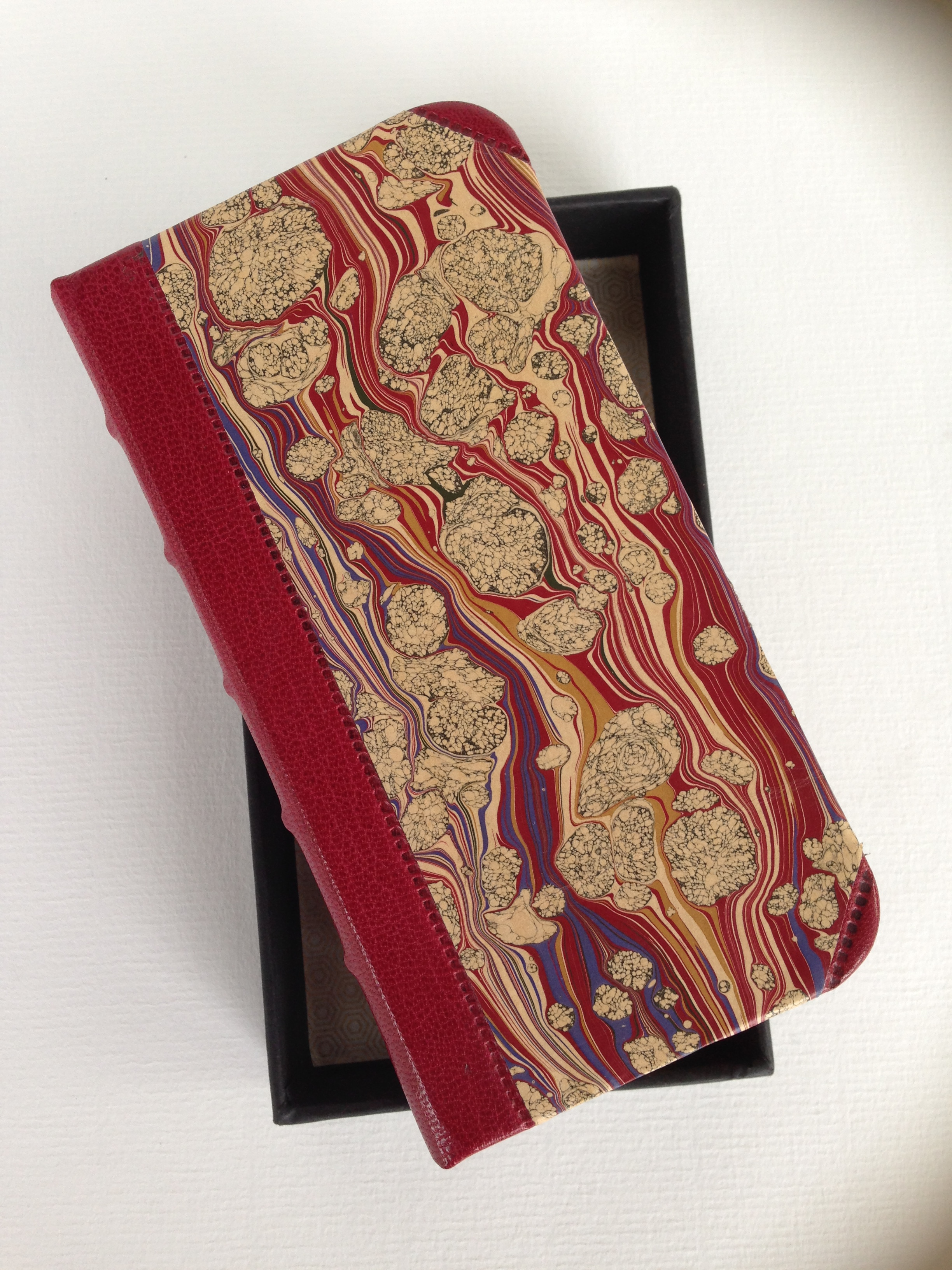 Goat Skin Hand -Marbled iPhone case